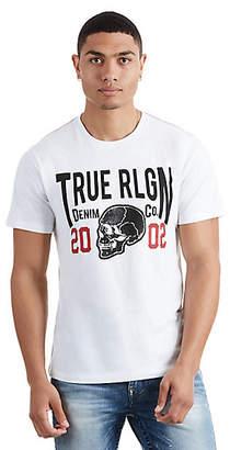 True Religion SIDE SKULL CREW MENS TEE