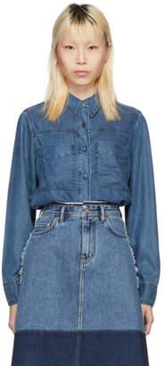 Acne Studios Blue Liur Shirt