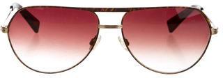 Paul Smith Aviator Gradient Lens Sunglasses $65 thestylecure.com