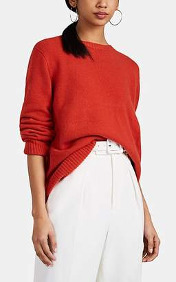 The Row Women's Sibel Wool-Cashmere Crewneck Sweater - Red