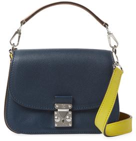 Louis VuittonVintage Navy Leather Vivienne
