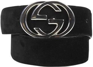 Gucci Interlocking Buckle belt
