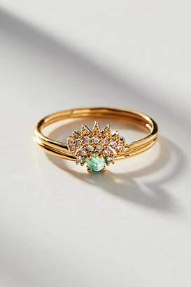 Anthropologie Crowned Ring Set