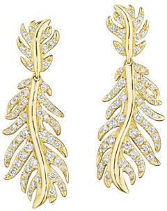 Mimi So Phoenix Wavy Diamond Dangle Earrings