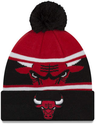 New Era Boys' Chicago Bulls Jr. Callout Pom Hat