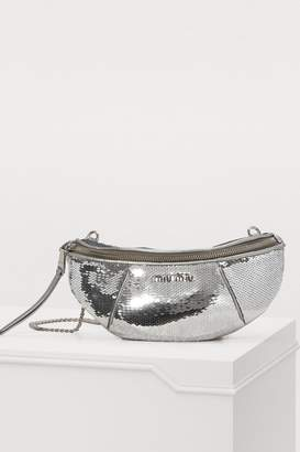 Miu Miu Sequin belt bag