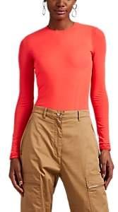 Maison Margiela Women's Tech-Mesh Bodysuit - Orange