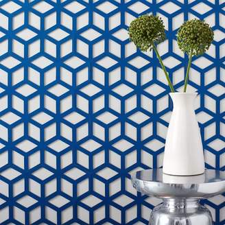 west elm Muratto Cork Wall Covering - Geo Cube