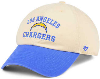 '47 Los Angeles Chargers Steady Two-Tone Clean Up Cap