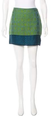 Maiyet Silk Mini Skirt