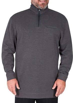 Haggar Big Tall Half-Zip Sweater