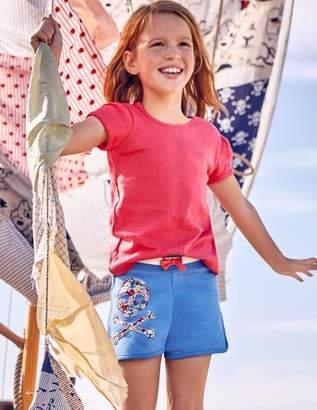 Boden Appliqué Jersey Shorts