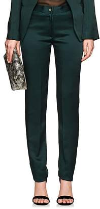 Boon The Shop Women's Classic Satin Mid-Rise Trousers