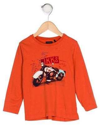 Ikks Boys' Knit Printed Shirt