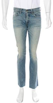 Simon Miller Distressed Slim Jeans