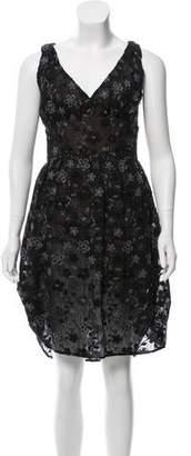 Tocca Sleeveless Knee-Length Dress