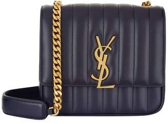 Saint Laurent Medium Vicky Matelassé Shoulder Bag
