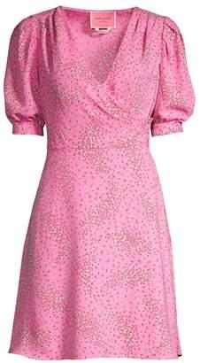 Kate Spade Meadow Printed Wrap Dress
