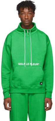 Converse Green Golf Le Fleur* Edition Quarter Zip Pullover Sweatshirt