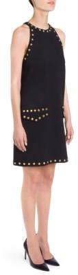Moschino Studded Cocktail Dress