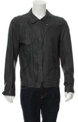 Nice Collective Leather Biker Jacket