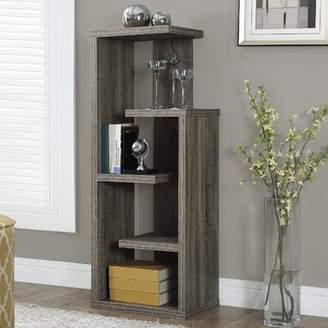 Monarch Specialties Inc. Kiley Standard Bookcase Monarch Specialties Inc.