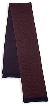 Theory Men's Two-Tone Merino Wool Scarf