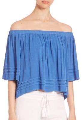 Young Fabulous & Broke Perris Off-The-Shoulder Top