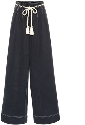 Ulla Johnson Soren high-rise wide-leg pants