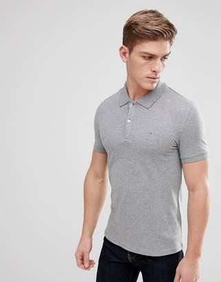 Celio Polo Shirt In Gray