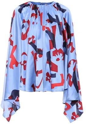 Roksanda Giana printed silk blouse