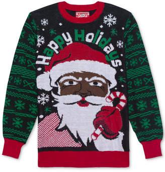 Hybrid Santa Men's Holiday Sweater