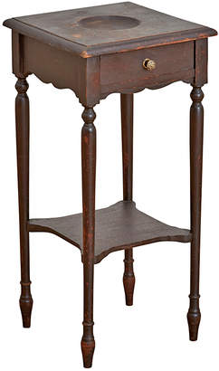 Rejuvenation Delicate Victorian Stand w/ Turned Legs