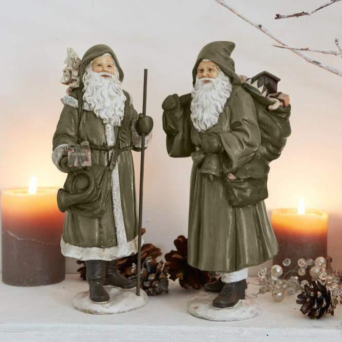 LOBERON Weihnachtsmann 2er Set Jonael