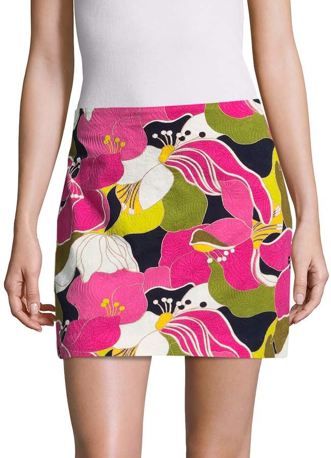 Trina Turk Women's Rico Cotton Skirt