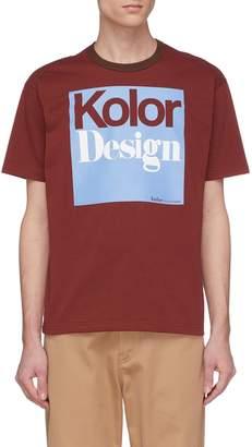 Kolor 'Kolor Design' print T-shirt