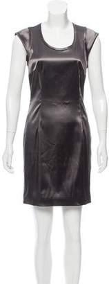Dolce & Gabbana Scoop Neck Mini Dress
