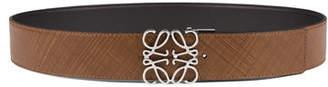 Loewe Men's Reversible Anagram Leather Belt