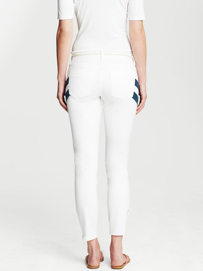 Banana Republic Heritage Side-Stripe Ankle Zip Jean
