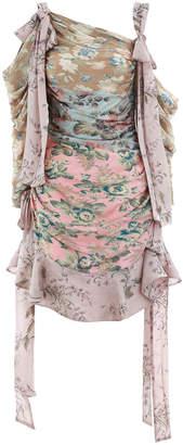 Zimmermann Unbridled Elixir Short Dress