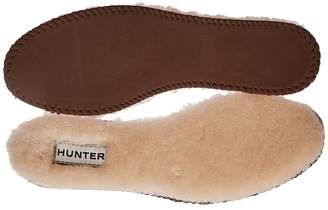 Hunter Luxury Shearling Insoles Women's Rain Boots