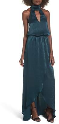 Show Me Your Mumu Karolina Halter Maxi Dress