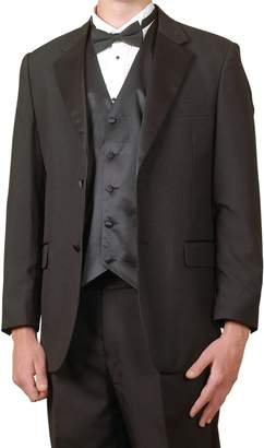 New Era Factory Outlet New Mens 6 Piece (6pc) Complete Tuxedo & Single Breasted Vest