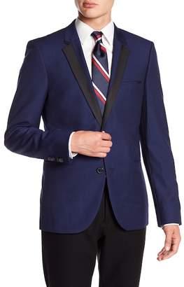 BOSS Andris Silk Notch Collar Blazer