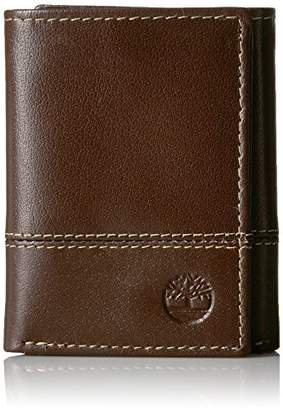 Timberland Men's Leather Rfid Blocking Trifold Security Wallet