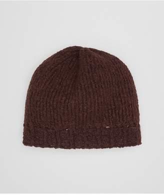 Bottega Veneta Coffee Wool Hat