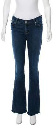 Victoria Beckham Denim Low-Rise Bootcut Jeans