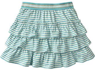 Boden Mini Girls' Ruffle Skort, Blue
