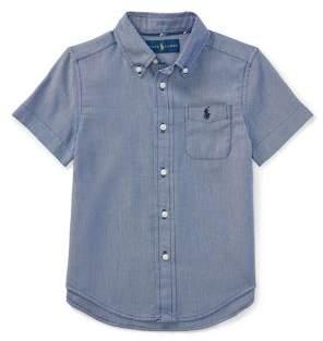 Ralph Lauren Little Boy's & Boy's Classic Stretch Collared Shirt