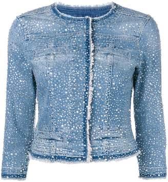 Liu Jo crystal-embellished jacket
